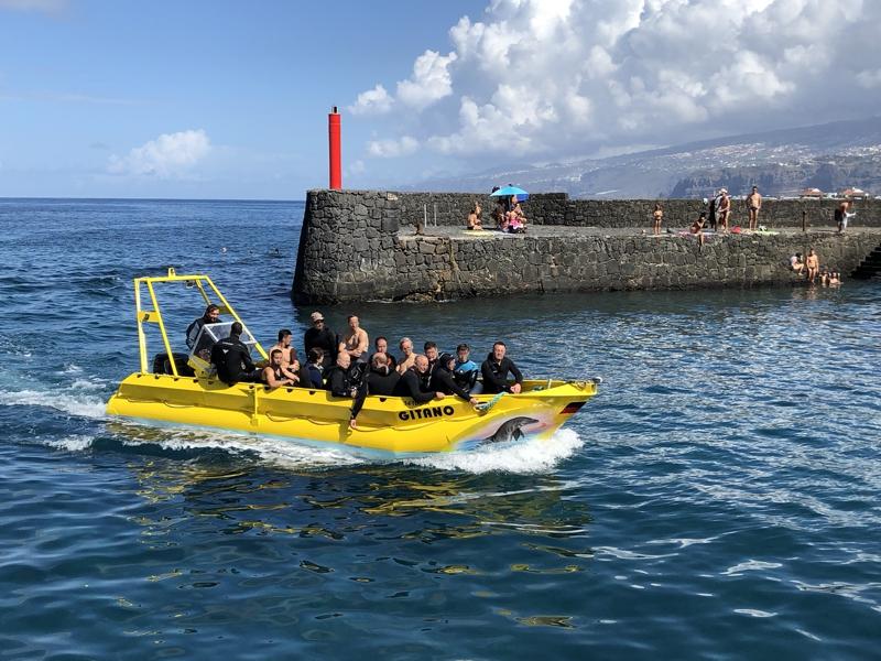 Tauchboot Gitano, frisch gewartet April 2018