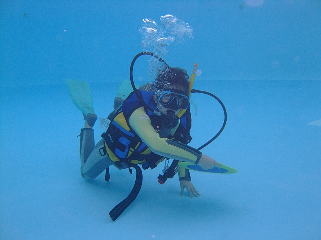 PADI Bubblemaker Scuba Diving for Kids