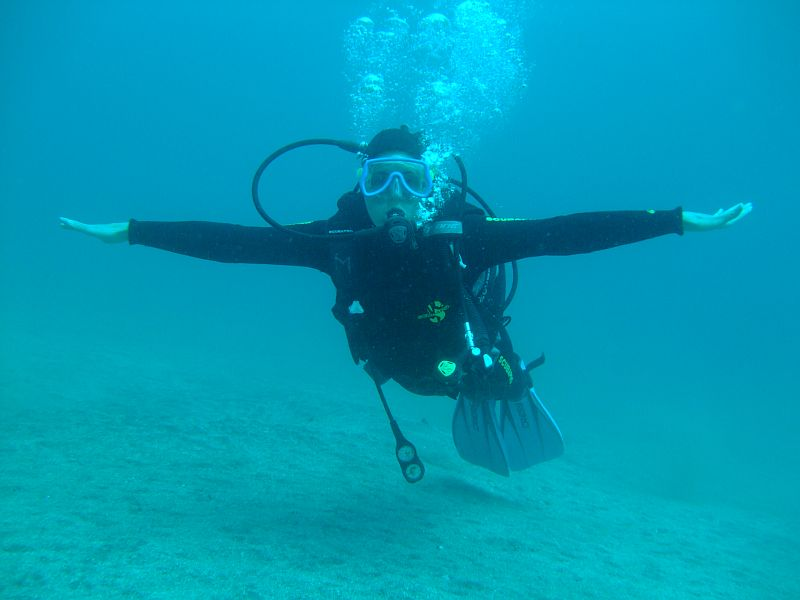 PADI Peek Performance Buoyancy Course