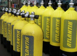 Botellas de Buceo