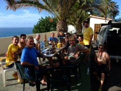 dive club on holiday in Tenerife