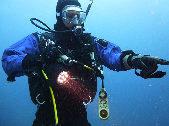 PADI Dry Suit Diver Kurs