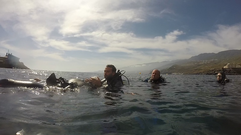 PADI IDC Open Water Training in Tenerife