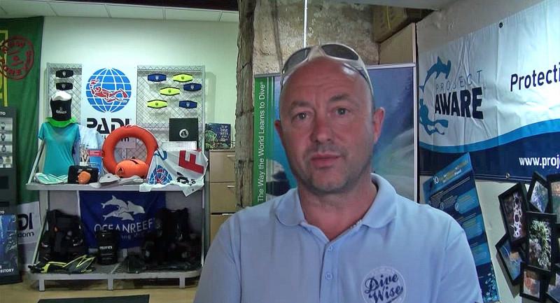 PADI Course Director Neville McLellan