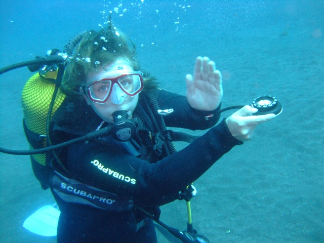 VDST Orientierung unter Wasser
