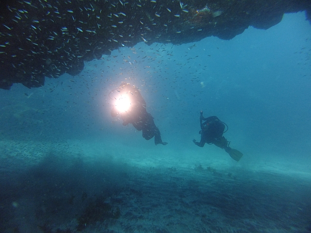 Dive site Bastion