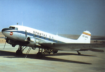Tauchplatz Flugzeugwrack DC3