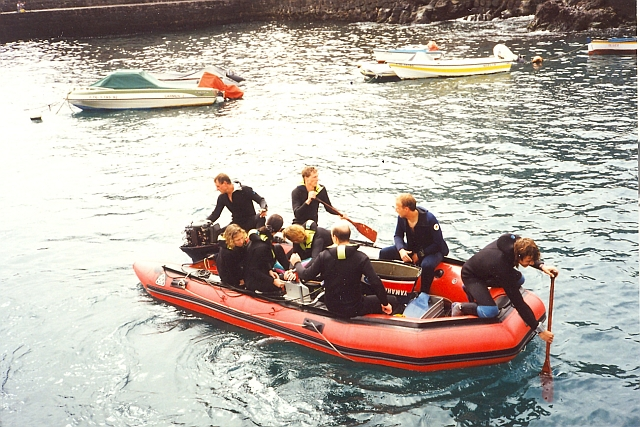 our dive boat 1994