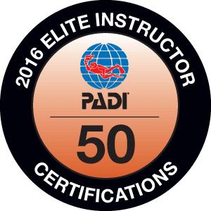 PADI Award Lazaro 2016
