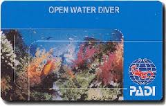 PADI Open Water Diver Lizenz